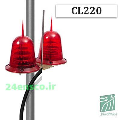 چراغ دکل دوقلو برقی CL220
