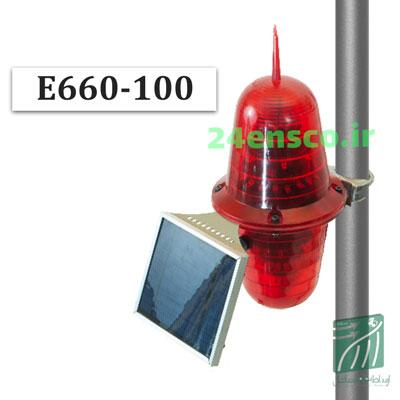 چراغ دکل خورشیدی E660-100